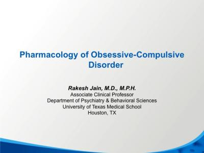 Obsessive-Compulsive Disorder (OCD) Treatment: Medication