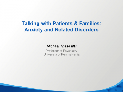 How to Talk about Anxiety and Related Disorders