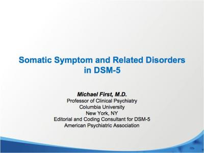 Somatic Symptoms
