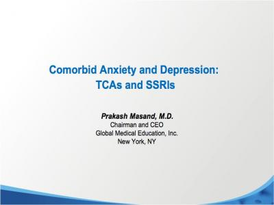 Anxiety with Depression? Treatment with Antidepressants